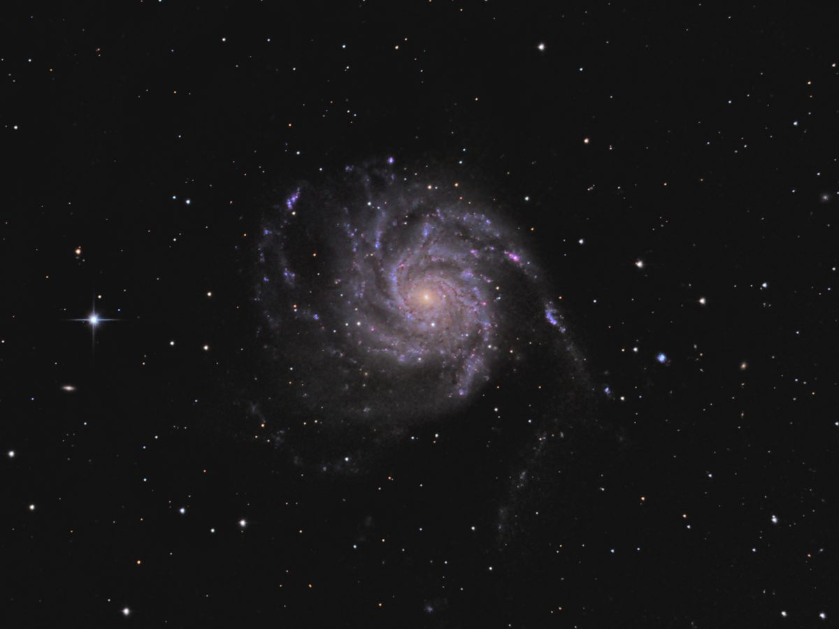 M101 the Pinwheel Galaxy