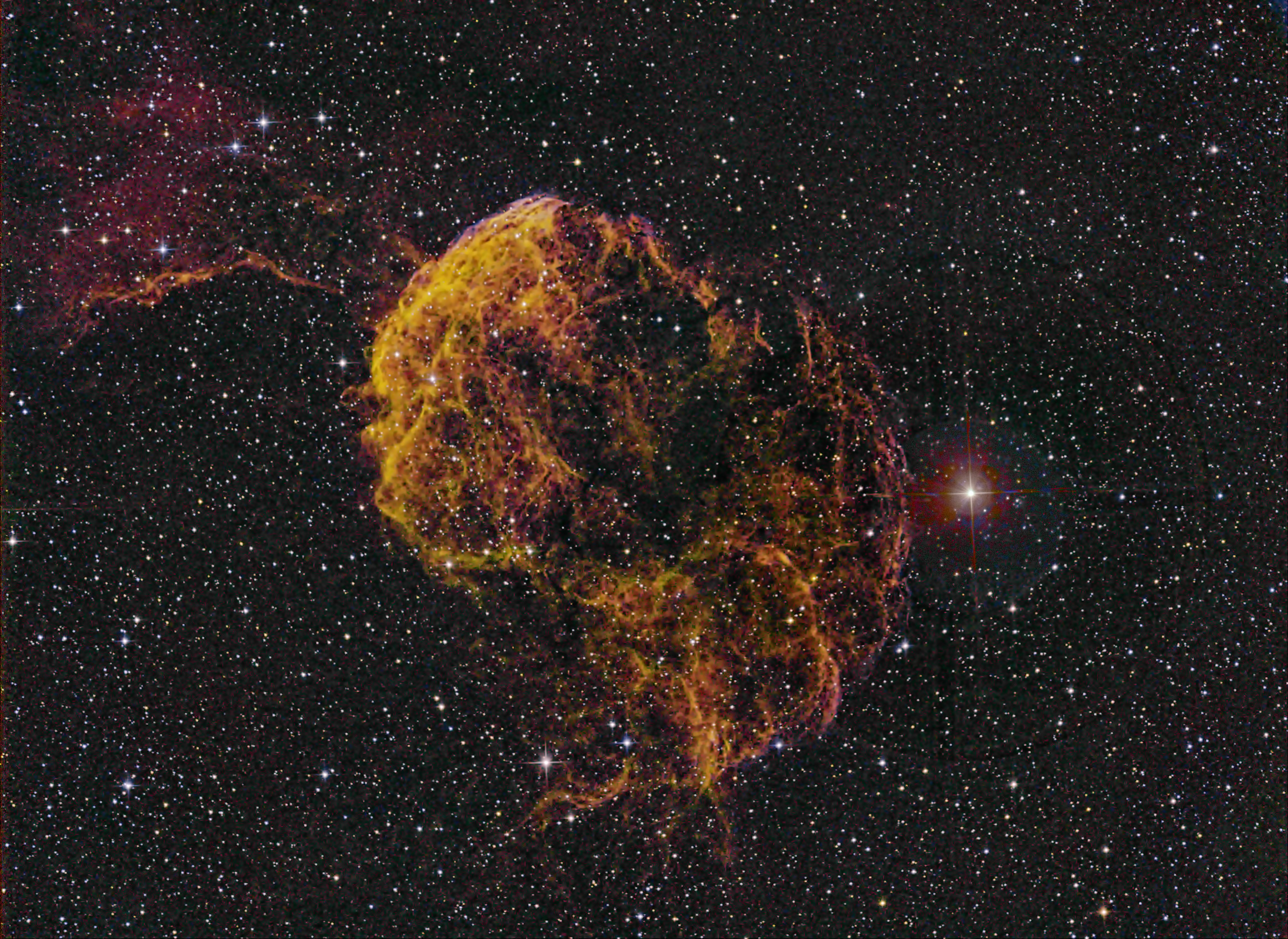 Jellyfish Nebula IC443