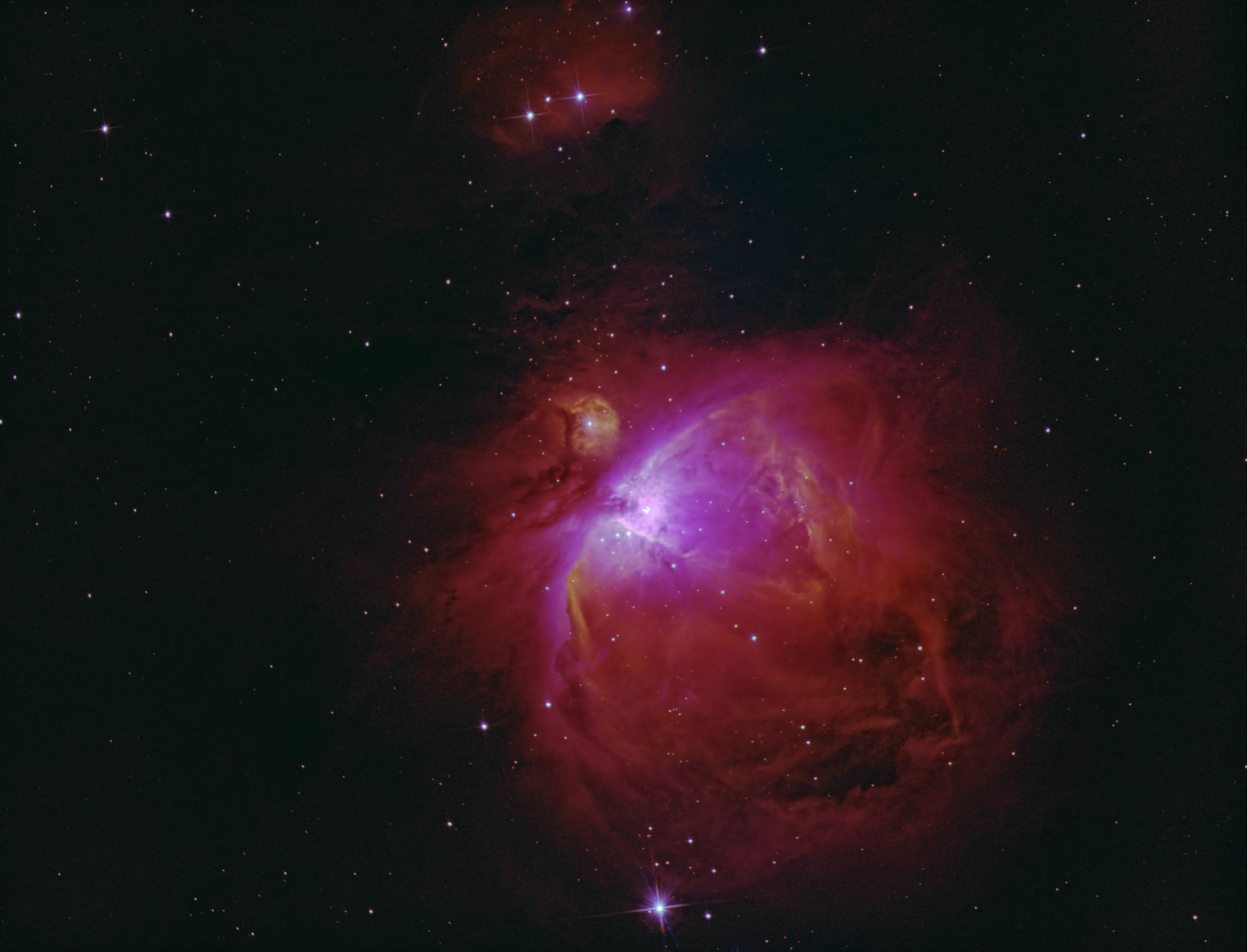 M42 in narrowband Ha Sii Oiii