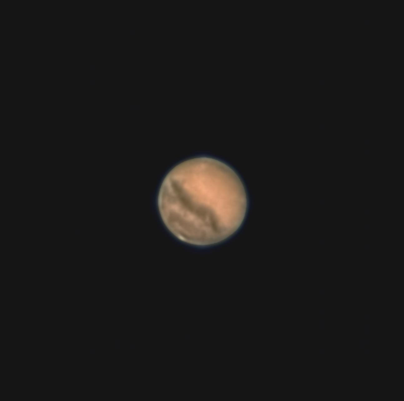 Mars at closest approach 2020