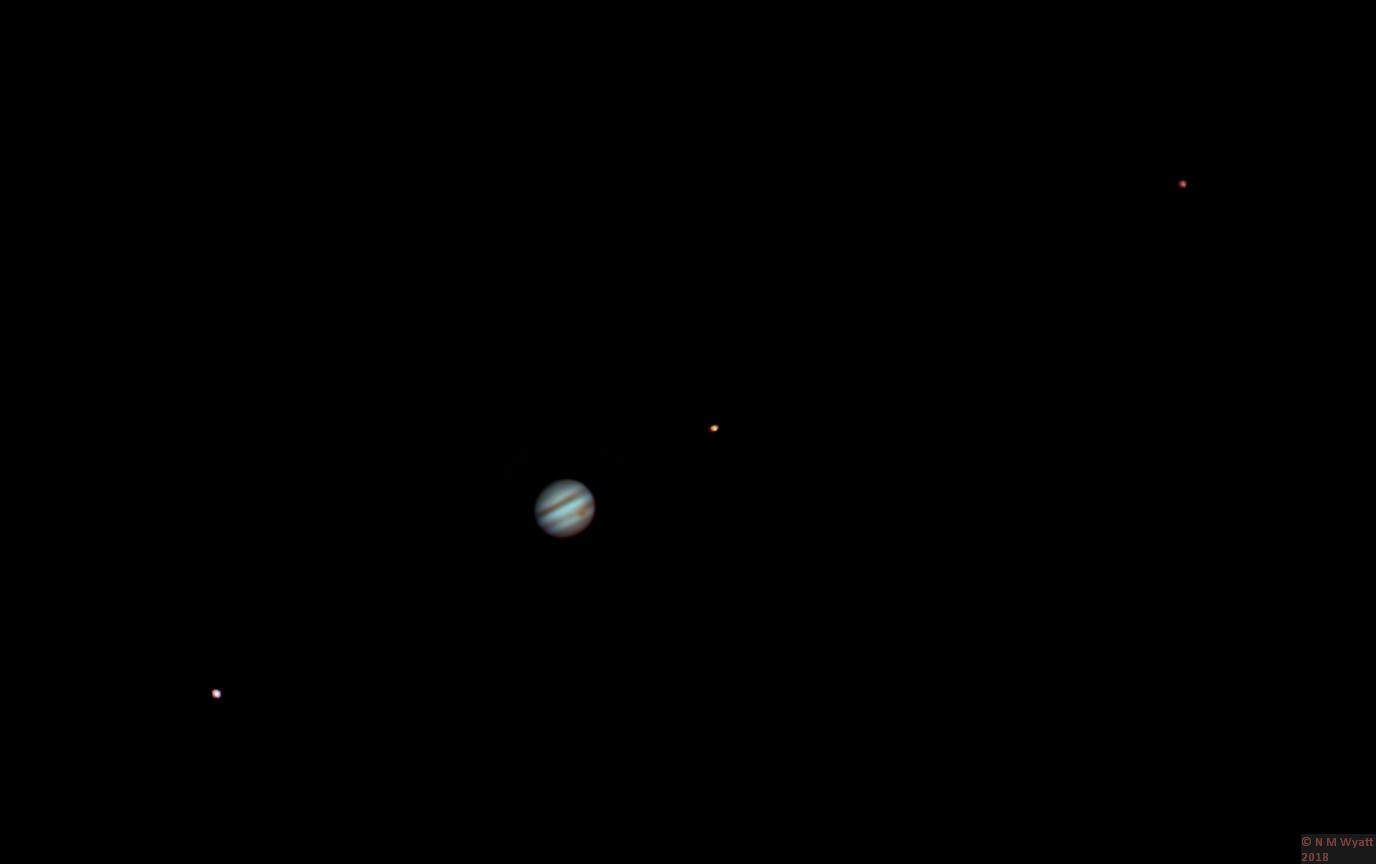 Jupiter, ganymede, callisto and io