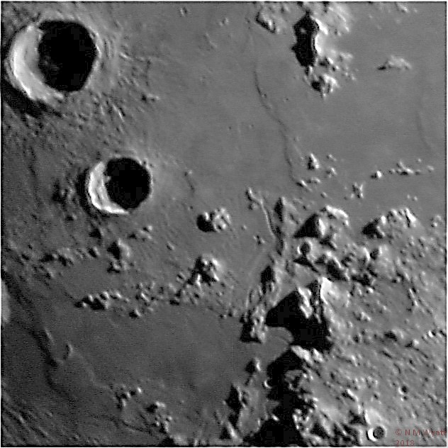 The Apollo 15 landing site, Mons Hadley and Hadley Rille