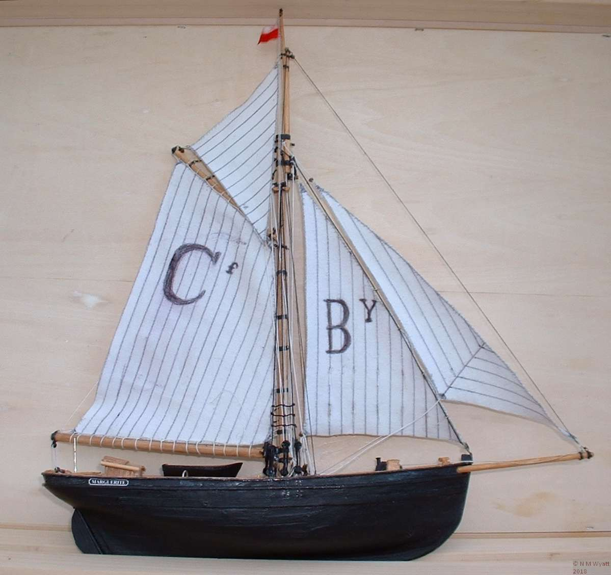 Model Bristol Channel Pilot Cutter