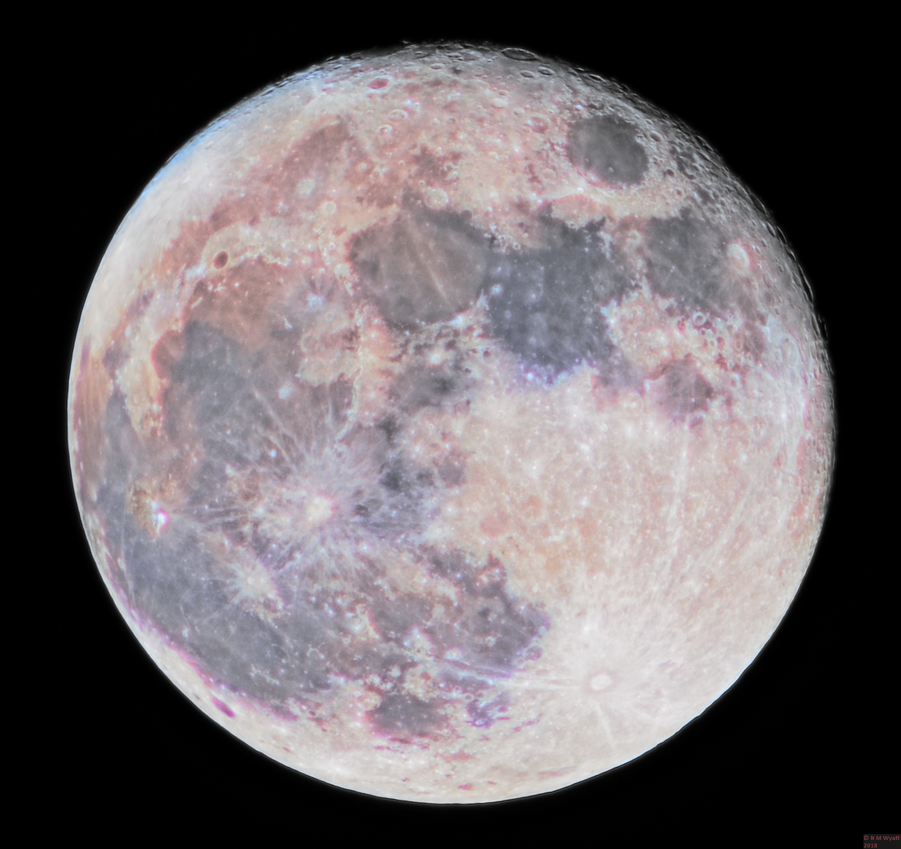 14 Dec Supermoon Colour