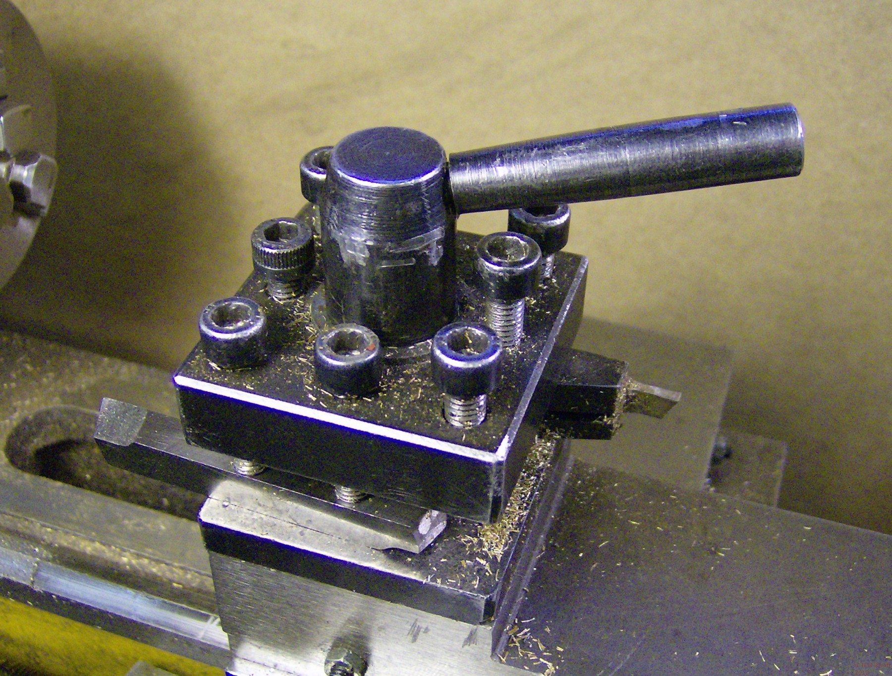 Four Position Toolholder