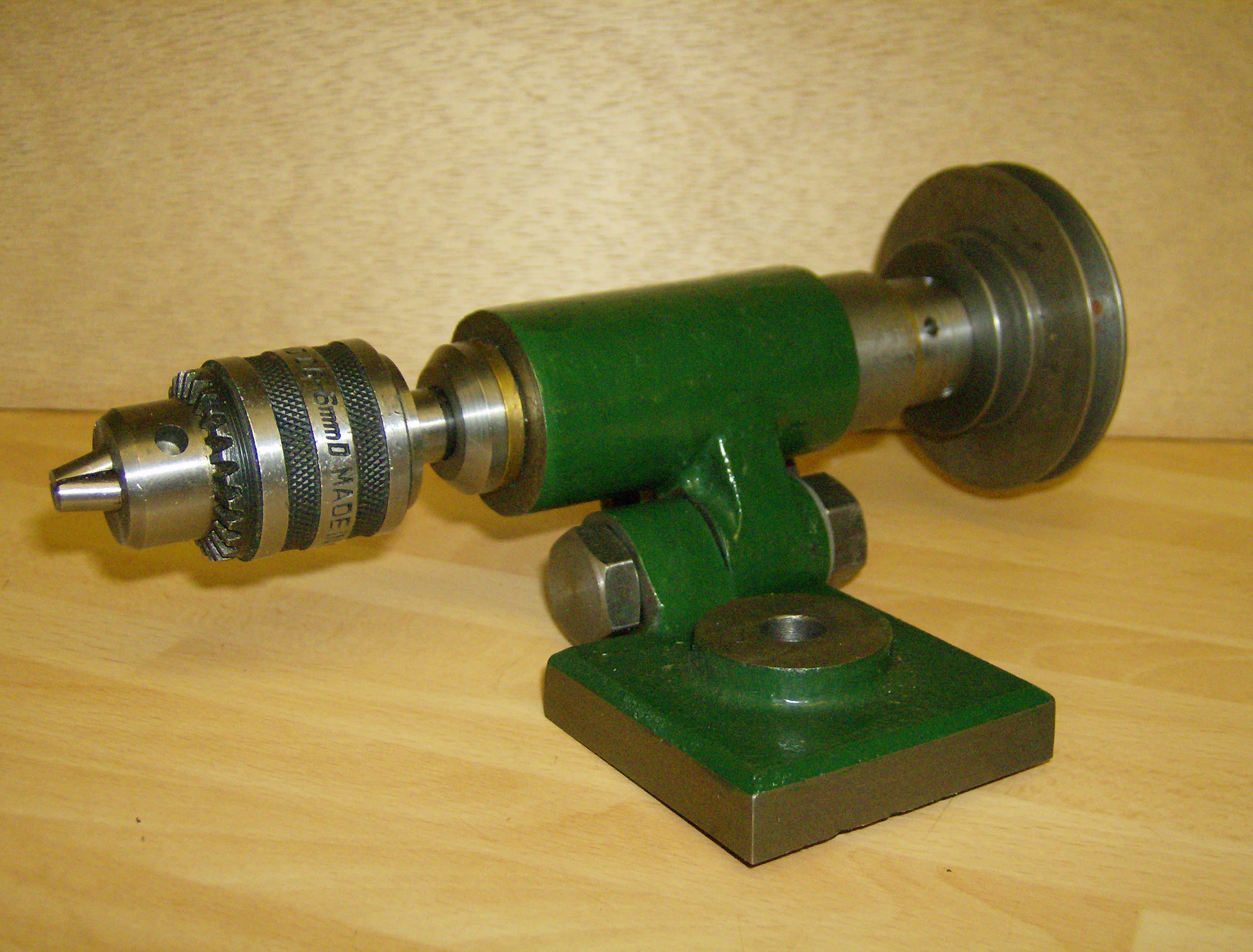 Potts Spindle with plain bronze bearings