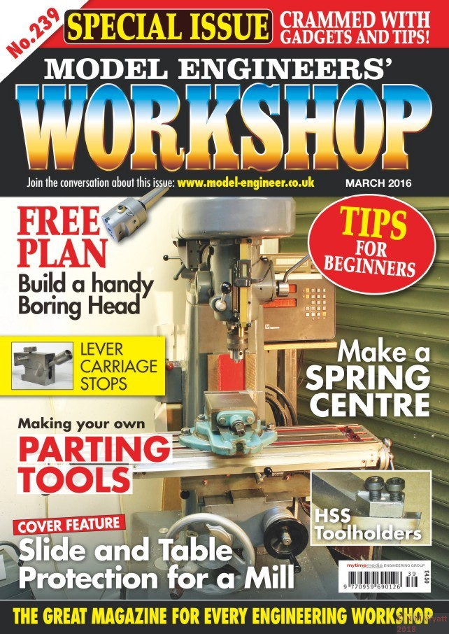 Model Engineers' Workshop Cover 239